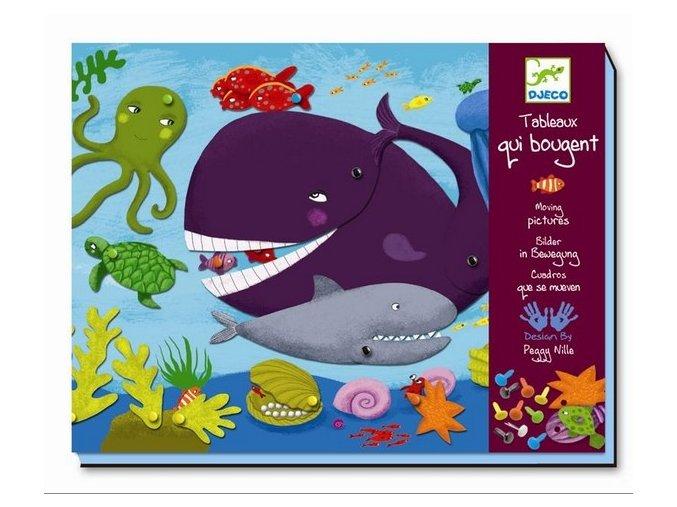 Výtvarná hra pro děti 4-6 let - Ahoj zvířátka