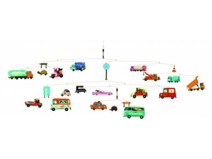 Závěsná dekorace-Dopravní prostředky