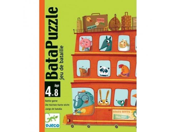 Djeco Batapuzzle - Kdo dřív vyrazí na cestu?