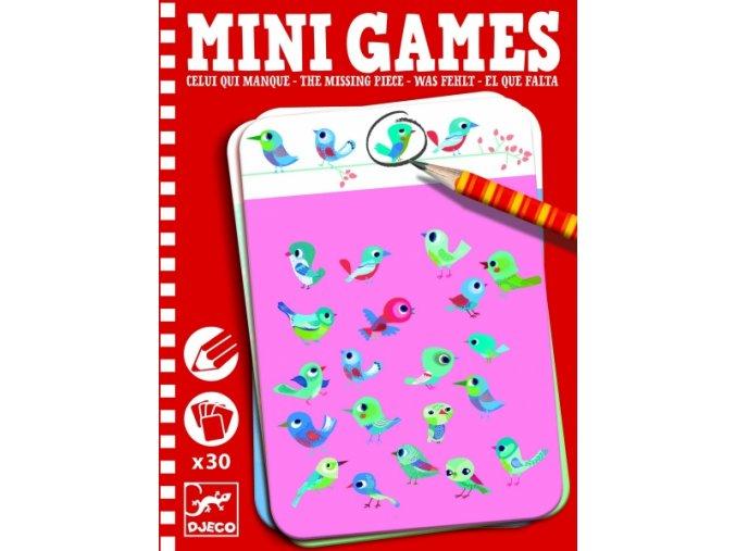 Mini Hra chybějící kousky s Caro