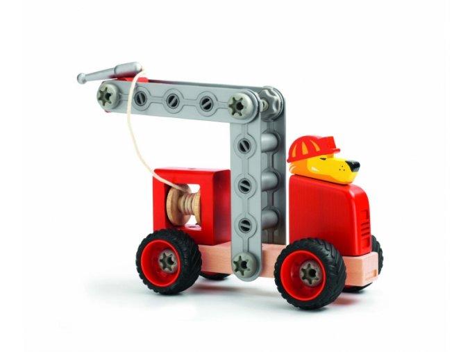 Skládací hasičské auto Lion Fire, 4+