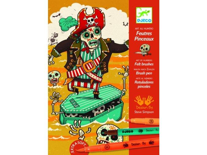 Výtvarná hra - Piráti 7-13 let