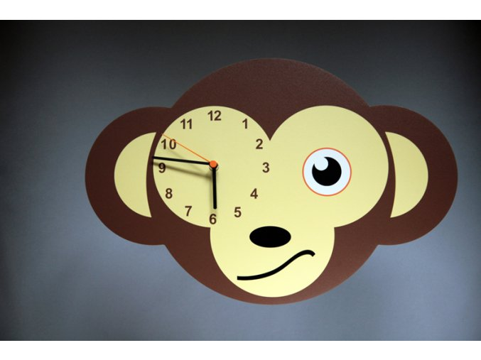 Nástěnné hodiny Opice