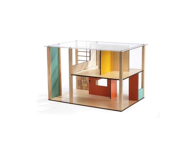 Domeček pro panenky - moderní provedení