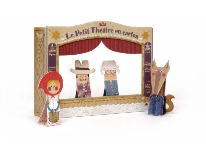 Loutkové divadlo - Červená karkulka