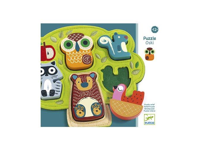Vkládací puzzle Oski