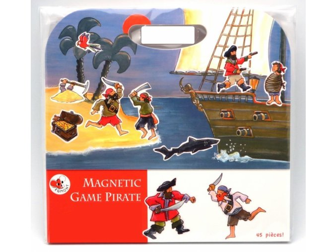 Magnetická hra - Pirátská loď