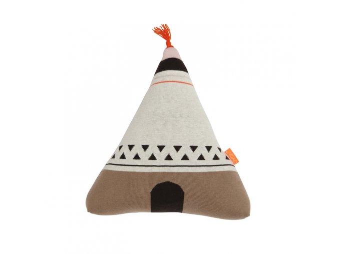 Polštářek indiánské teepee