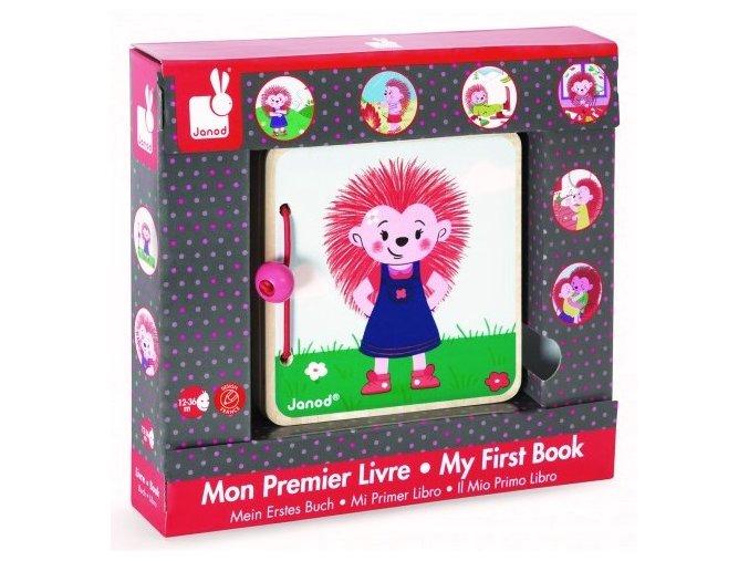 Moje první knížka - Příhody malého ježka