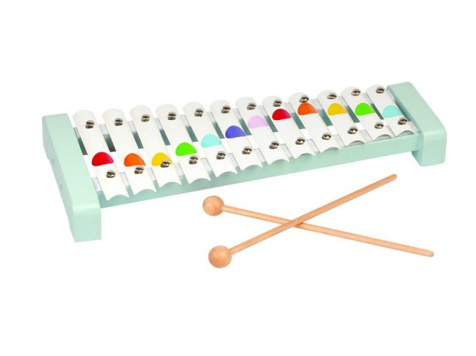 Kovový xylofon