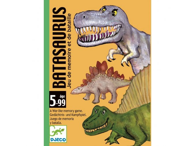 Batasaurus karetní hra