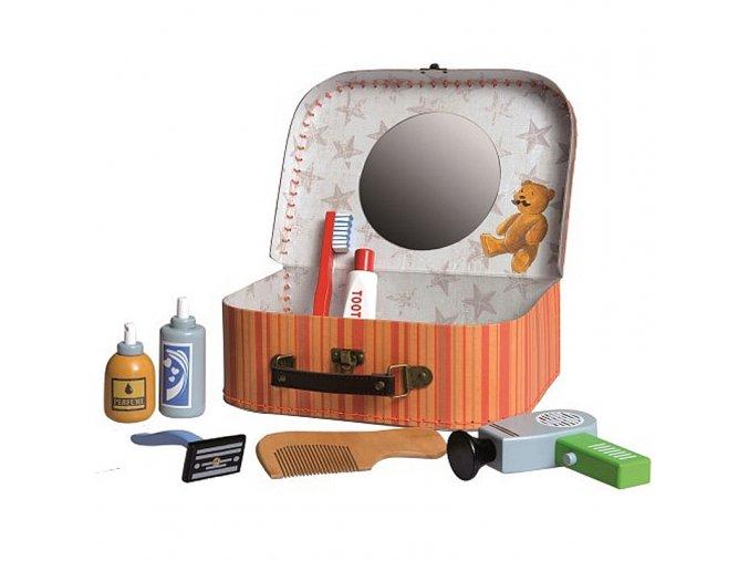 Toaletní sada pro kluky v kufříku (holení)