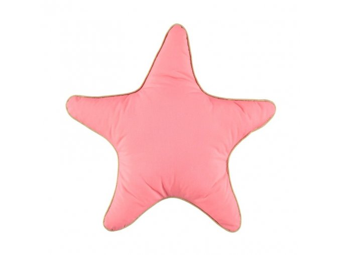 Polstářek Star Indian pink, malý