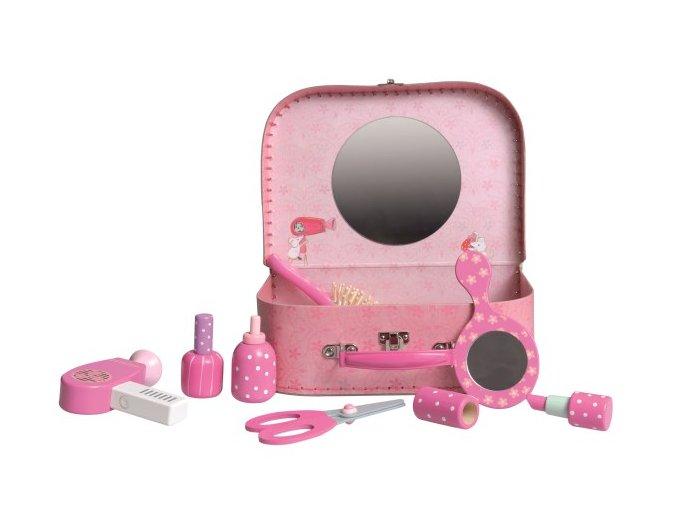 Toaletní sada pro holky v kufříku