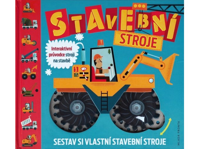 Stavební stroje - Interaktivní kniha 7+