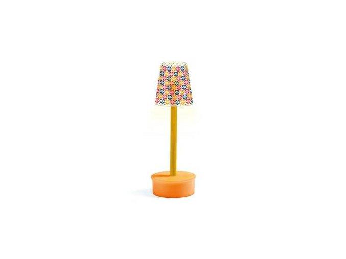 Domeček pro panenky lampa