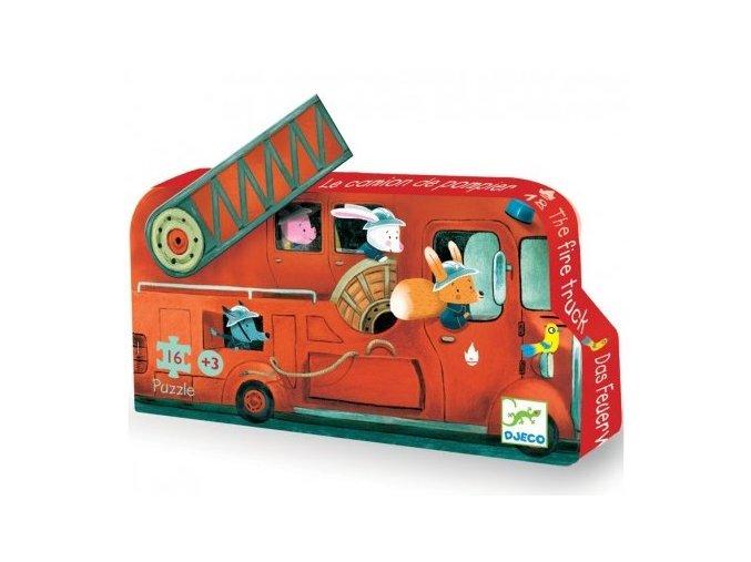puzzle Hasičský vůz