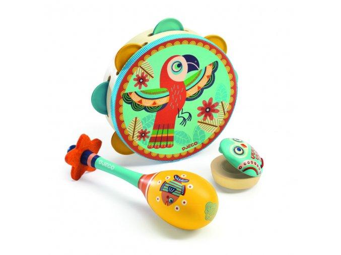 Animambo sada hudebních nástrojů