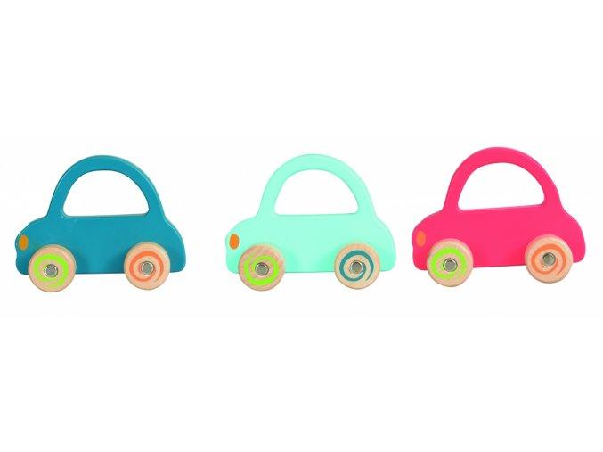 Dřevěné autíčko pro nejmenší