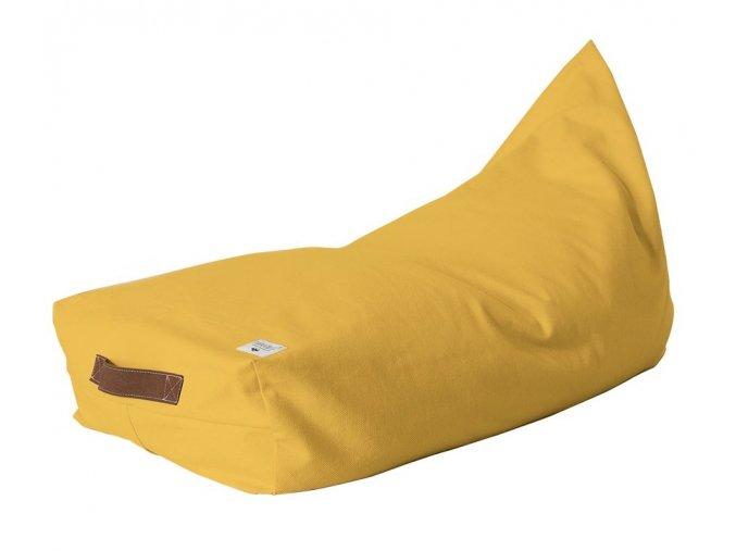 Sedací vak Oasis - sytě žlutý