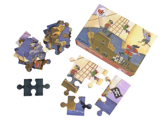 Podlahové puzzle  Piráti
