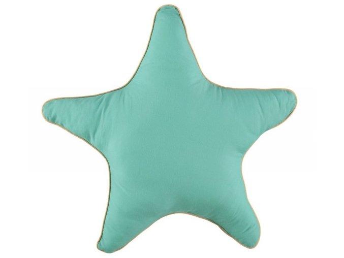 Polštář Star Tropical green, velký