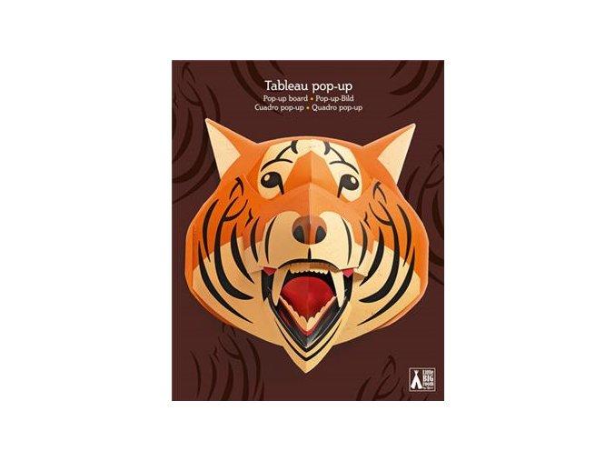 Nástěnná dekorace - tygr