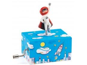 Hrací skříňka - superhrdina