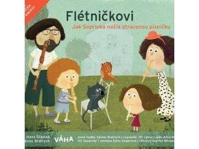 Flétničkovi - Jak Soprinka našla ztracenou písničku - kniha s CD