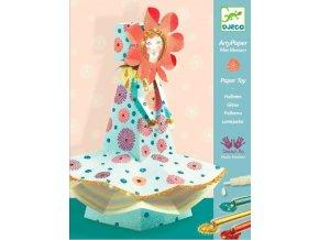 Papírová panenka - luční víla