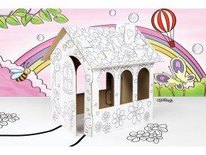 Domek k vybarvení - malý