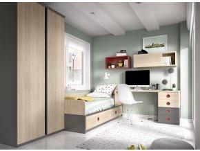 studentský pokoj  H208 W