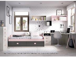 studentský pokoj  H212 W
