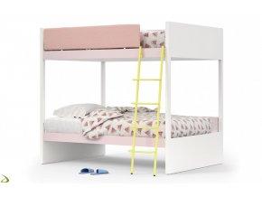 nidi letto a castello per cameretta bimbi con doppio letto camelot 1