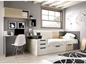 dětský pokoj H501 Det01 W