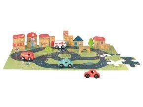 auta a město