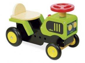 Dřevěné odrážedlo traktor 18m+