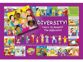 Hra Diversity! Learn to respect the difference. 3+