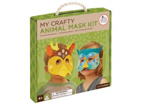 craft kit forest animal masks box large