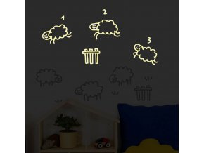 wallsticker kids glow counting sheeps 2 detail 720x720