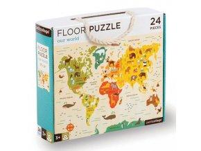 Podlahové puzzle Náš svět