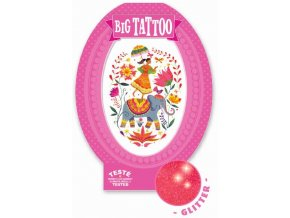 dj09602 1 velké tetování indie