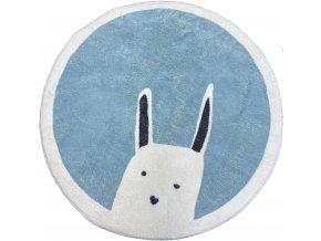 koberec králík modrý
