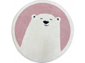 koberec medvěd ružový