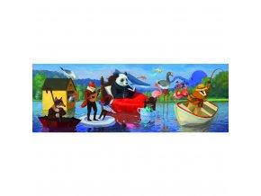 Puzzle - Letní jezero 350dílků