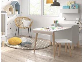 Montessori stoleček se židličkou rolí paríru