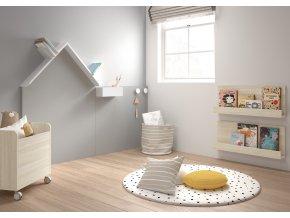 Montessori domečková tabule na malování křídou 3