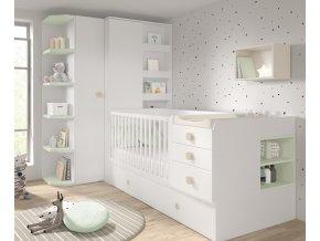 ROS20 - dětský pokoj s rostoucí postýlkou FUSION2