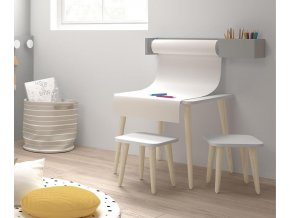 Montessori polička s rolí papíru 4