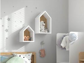 Montessori polička domek 5